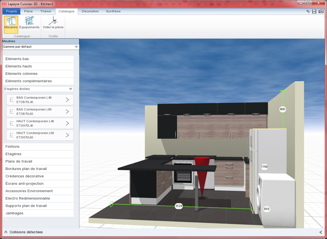 plan cuisine lapeyre beautiful faire un plan de cuisine plan travail cuisine beautiful plan. Black Bedroom Furniture Sets. Home Design Ideas